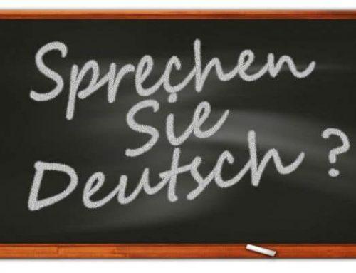 Тест на знание немецкого языка